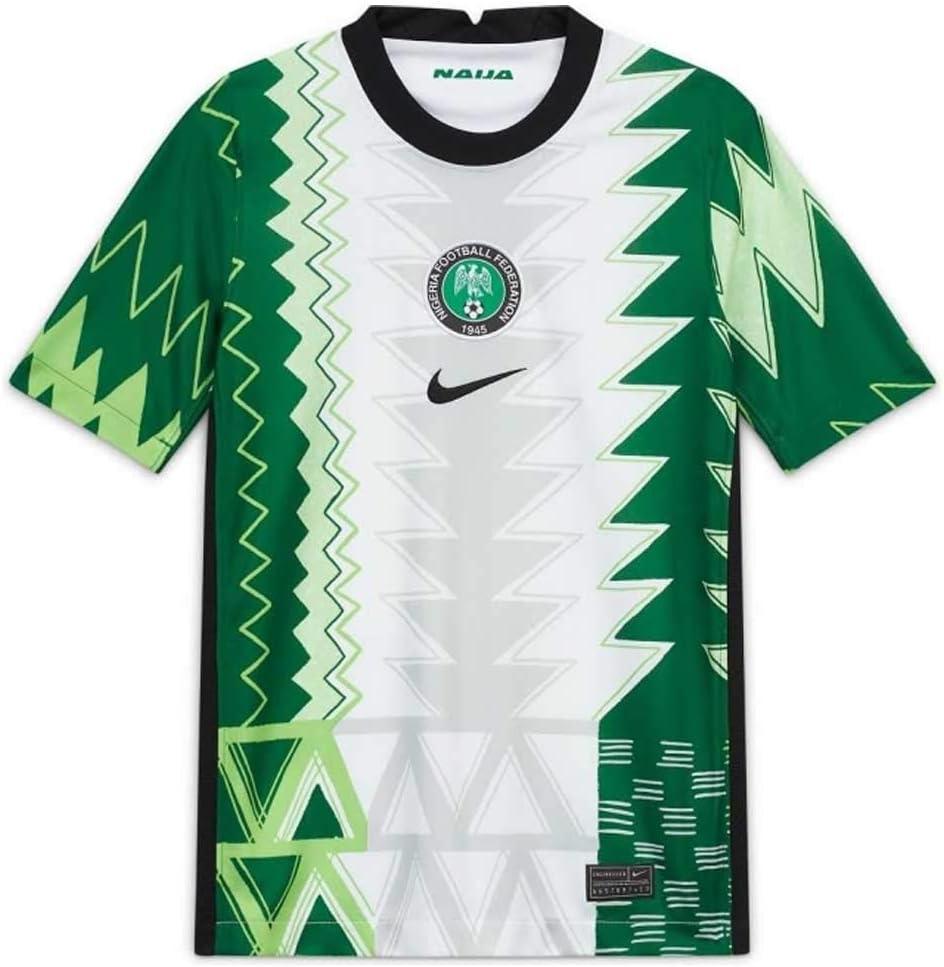 2020-2021 Nigeria Home Football Soccer T-Shirt Jersey (Kids)