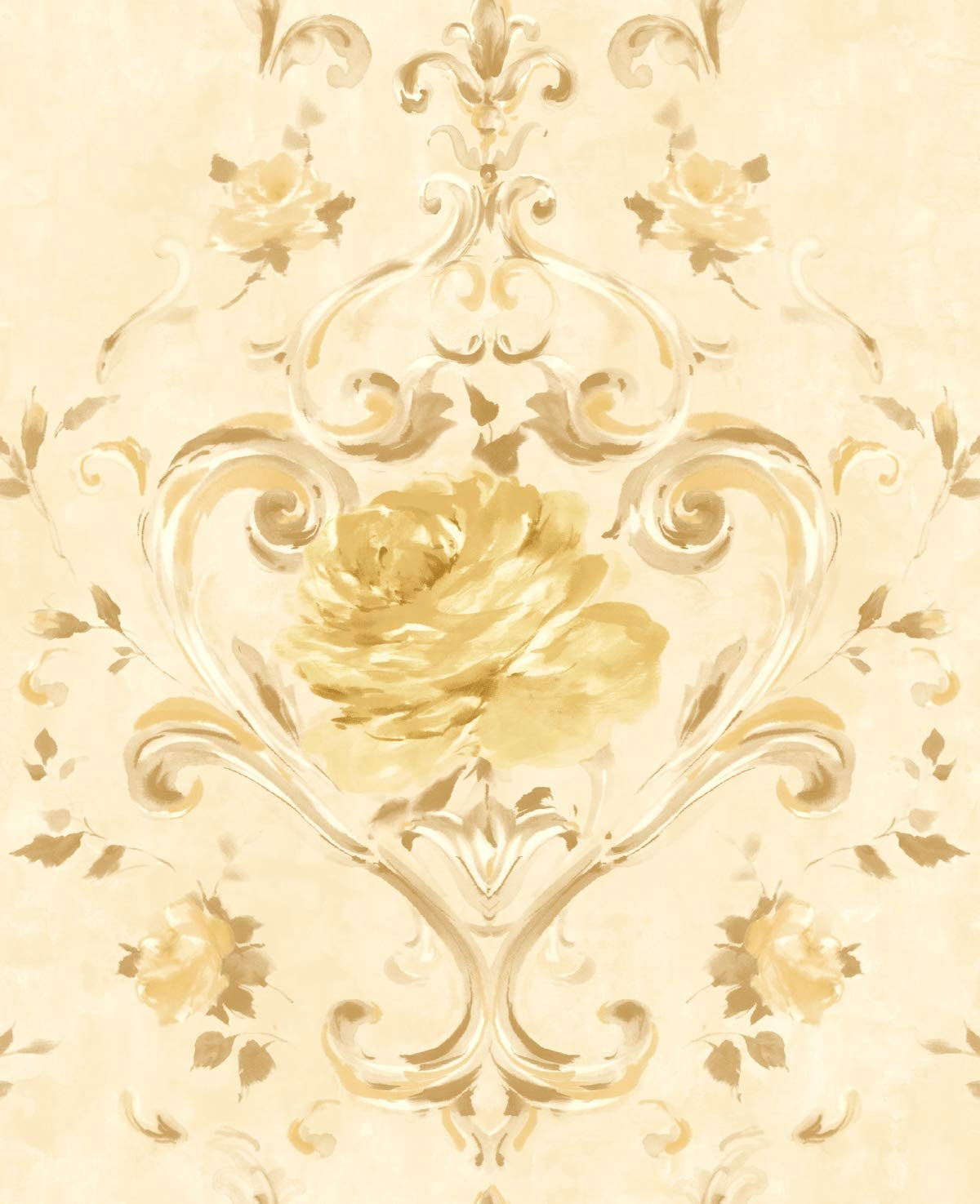 Gold Wallpaper Floral Gold Wallpaper Gold Shimmer Wallpaper