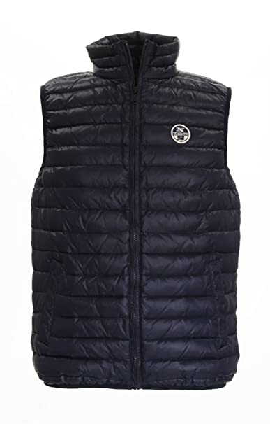 North Sails Glt Jenkins Gilet Uomo, Navy, XXXL: Amazon.it