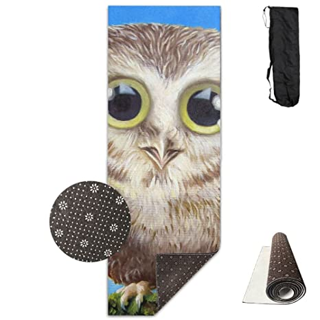 Amazon.com: Owl Baby Art Comfort Unisex Yoga Mat For Yoga ...