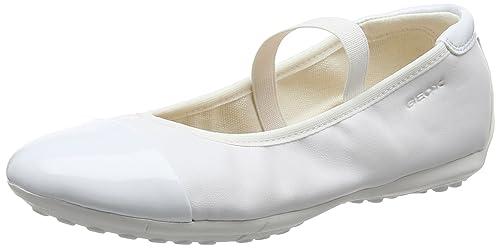 4c1104f0c Geox Girls  Jr Piuma Ballerine C Closed Toe Ballet Flats  Amazon.co ...