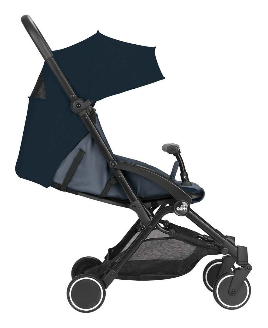 Silla de paseo 4 ruedas Cam Carrito cubo azul: Amazon.es: Bebé