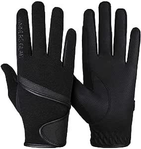 Winners Gear Men & Women Horse Riding Gloves - Horseback Riding Gloves Equestrian Gloves Cotton Outdoor Sports Driving Riding Bike Workout Running Gardening Gloves. (Large)