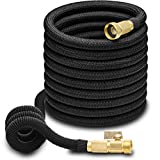 Hospaip Expandable Water Hose with Double Latex Core, 3/4