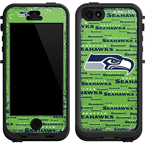 buy popular 0ae28 a6e7a Skinit Seattle Seahawks Green Blast LifeProof Nuud iPhone 5/5s/SE Skin for  CASE - Officially Licensed NFL Skin for Popular Cases Decal - Ultra Thin,  ...