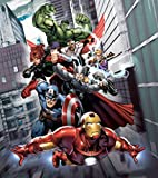 1art1 77971 the avengers captain america iron man hulk - Poster wanddurchbruch ...