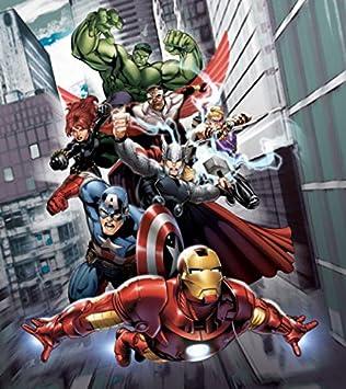 Foto-Tapete Thor and Hulk Marvel 8-teilig Größe 368x254 cm