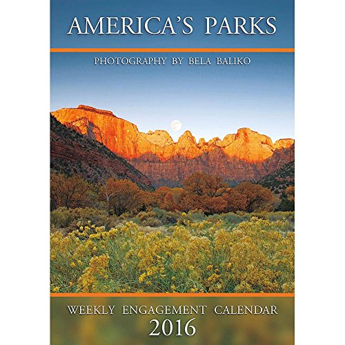 America's Parks Softcover Weekly Planner