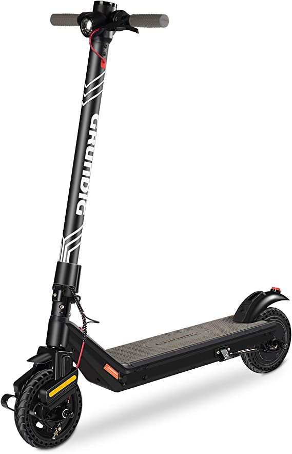 GRUNDIG Electric Scooter, Foldable with 380W Motor 7.8Ah Battery 8.5″ Tires Shock Absorber and Triple Brake System, Max Speed 25 km/h and 30km Range
