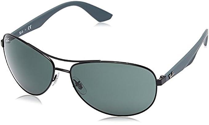 Amazon.com: Ray-Ban anteojos de sol rb3526 & Cleaning Kit ...