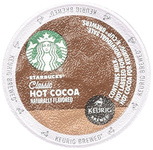 Starbucks Classic Hot Cocoa 16 K-cup Pods (2 Count)