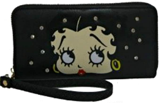 Amazon.com: Betty Boop - Cartera organizadora con cierre de ...