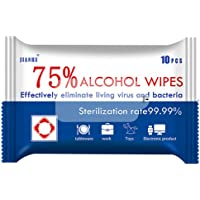 75% Alcohol Wipes Disinfection Tablets Sterilization Alcohol Cleaning Wet Wipes 99.9% Sterilization Rate 10 Pieces