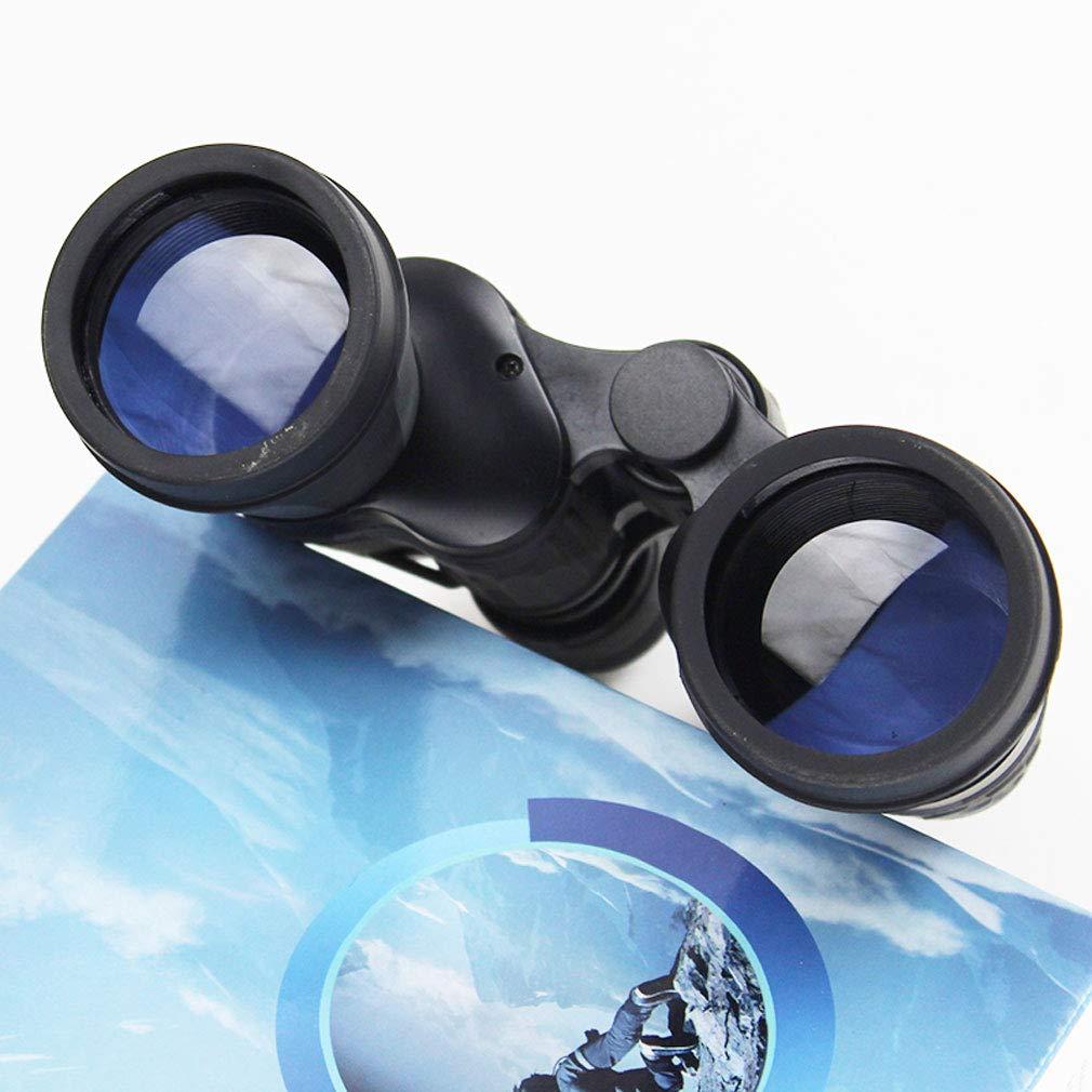 ZHAOJWYJ Telescopio Exteriores, Portátil 7x50 de Alta Potencia para Exteriores, Telescopio Velocidad Focal Ajustable, Adecuado para Observación de Aves Al Aire Libre, Aventura, Visualización 8X Metal (Negro) 5be189