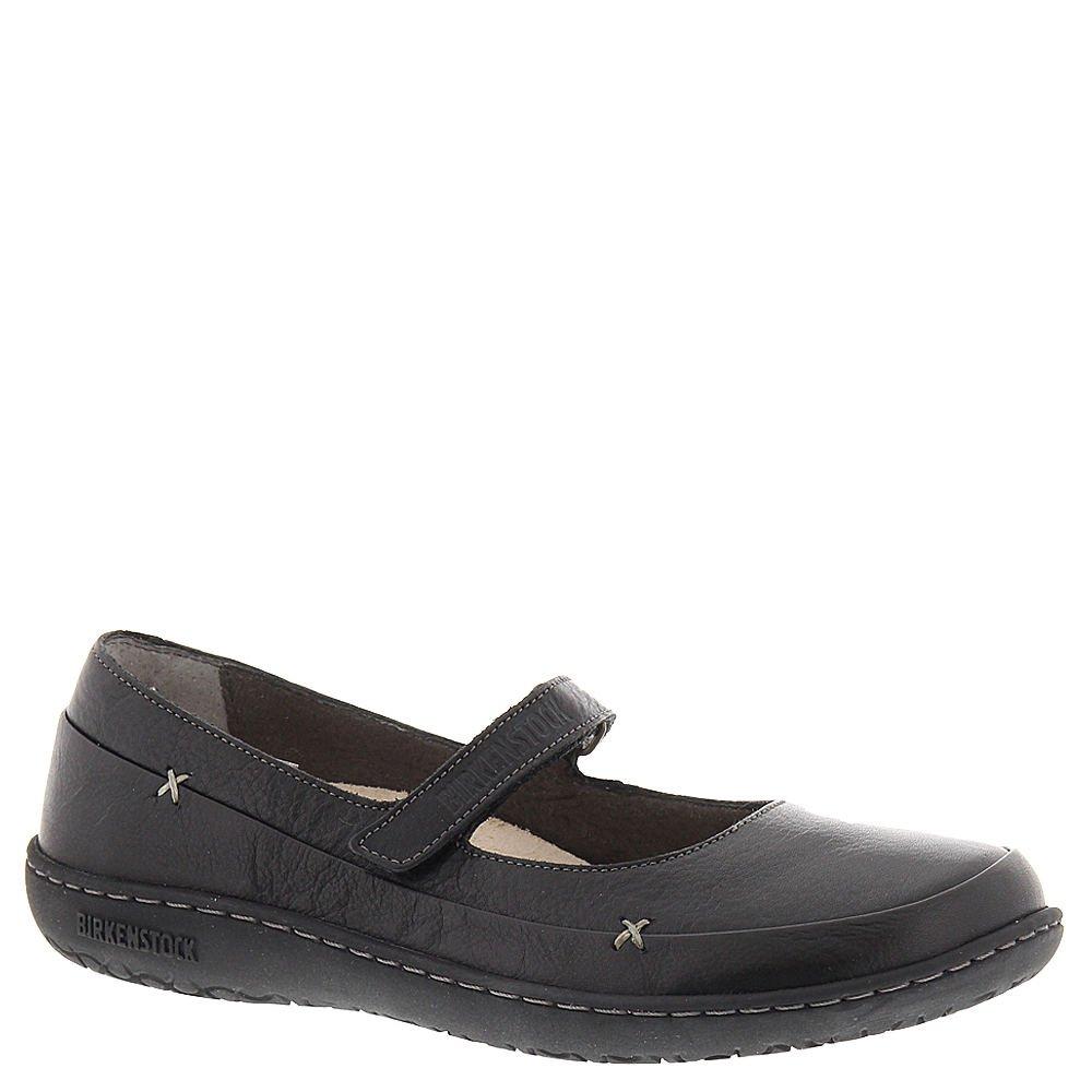 Birkenstock Women's Iona Mary Jane,Black Leather,EU 39 R