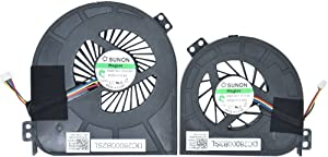 BAY Direct 5V 0.60A CPU & GPU Cooling Fan for Dell Precision M4700 Series Compatible Part Number: KSB0705HC BK1L 1G40N (Thermal Compound; Spatula; Warranty Card Included)