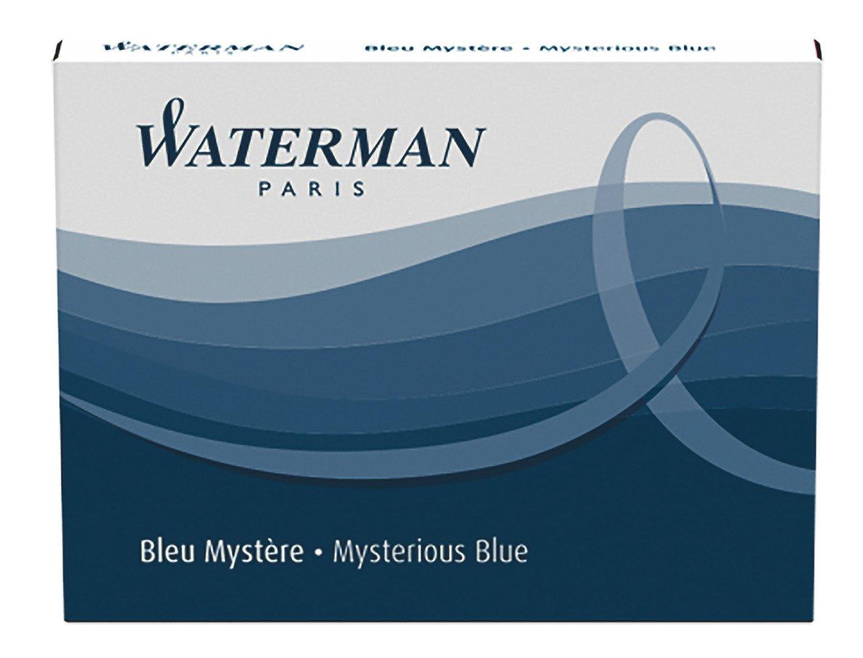 Recarga Tinta Waterman Azul (S0110910) [8un.]