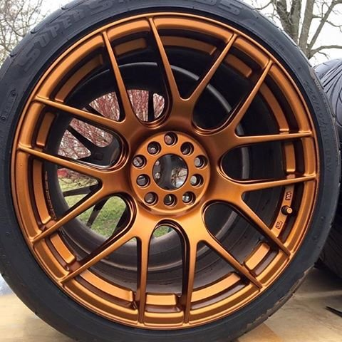 Corvette Black Wheel - Performance Corvettes DipYourCar DYC Burnt Copper and Matte Black Ready to Spray Aerosol Plasti Dip Cans Kit of (7)