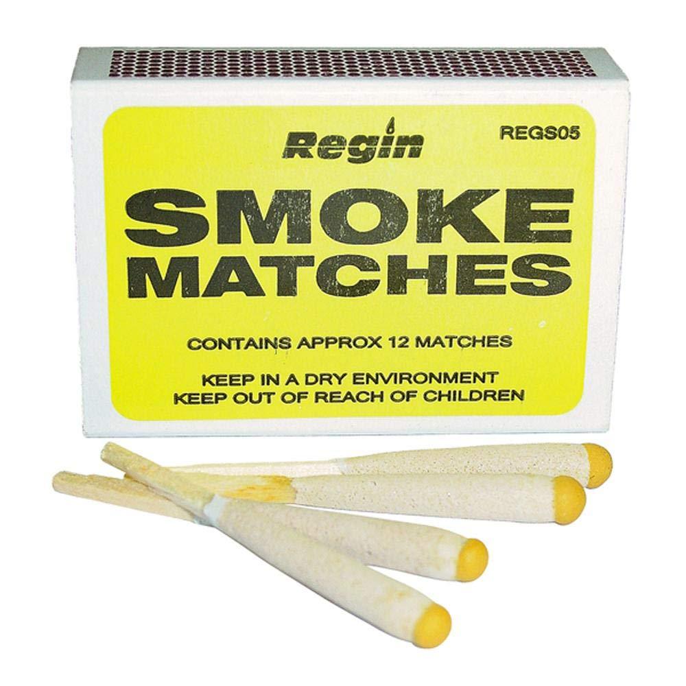 Regin Smoke Matches (Box of 12) New