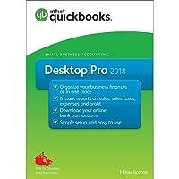 Intuit QuickBooks Desktop Pro 2018 - English Accounting Software 2018
