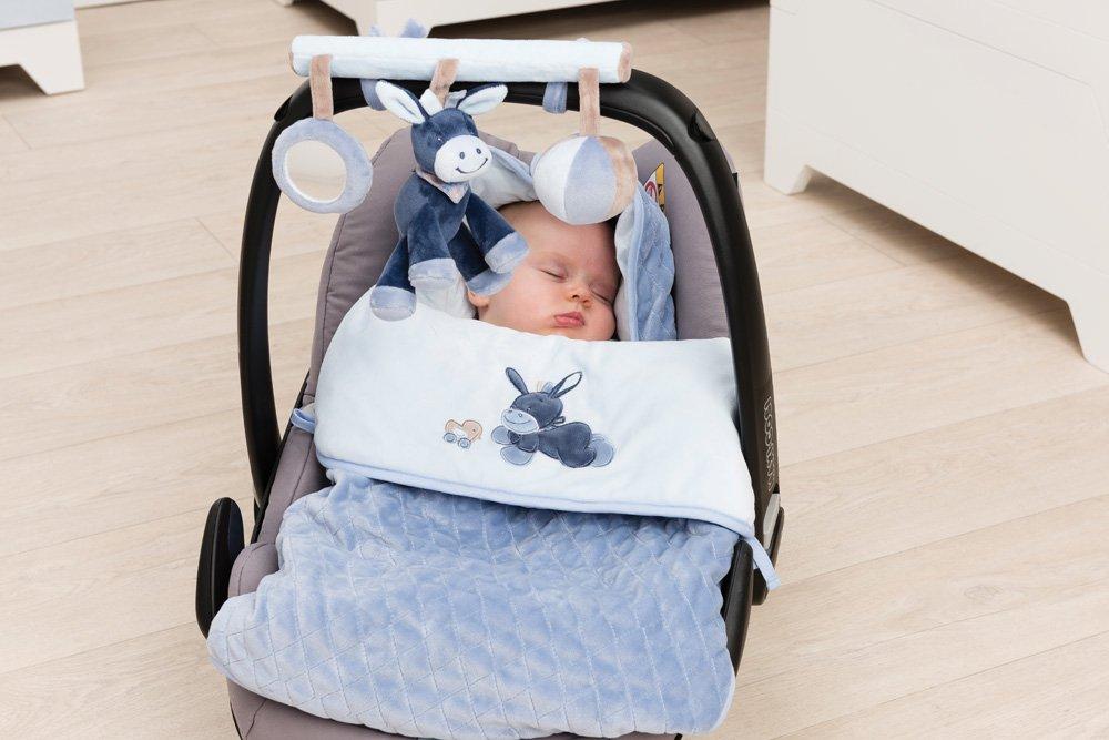 Jungen Nattou Baby Fu/ßsack f/ür Babyschale und Kinderwagen Alex und Bibou