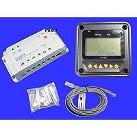 MISOL Epsolar Solar regulator 20A 12V 24V solar charge controller 50V LS2024B with Remote Meter MT50