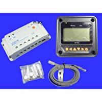MISOL Epsolar Solar regulator 20A 12V 24V solar charge controller 50V LS2024B with Remote Meter MT50/El regulador solar 20A 12V 24V regulador de carga solar EPSOLAR 50V LS2024B con medidor remoto MT50