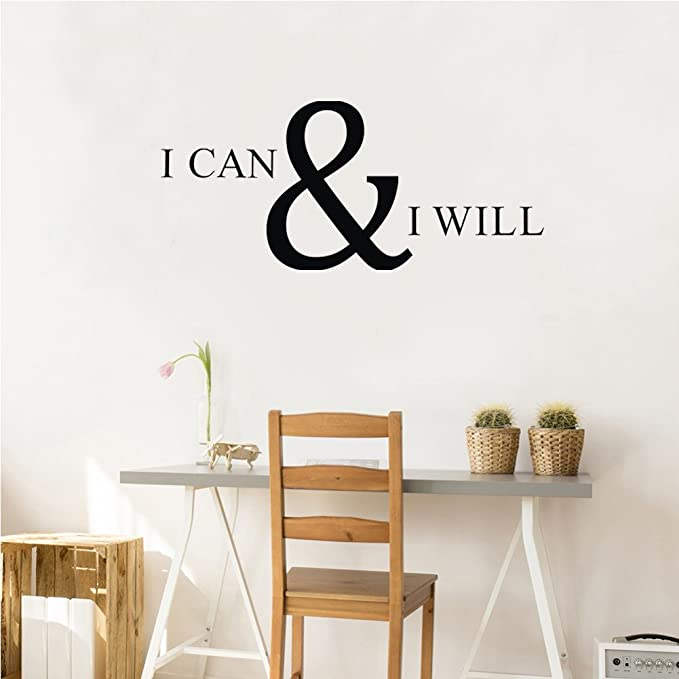 You never know how strong you are Wall Stickers Quote Home decor UK qw30