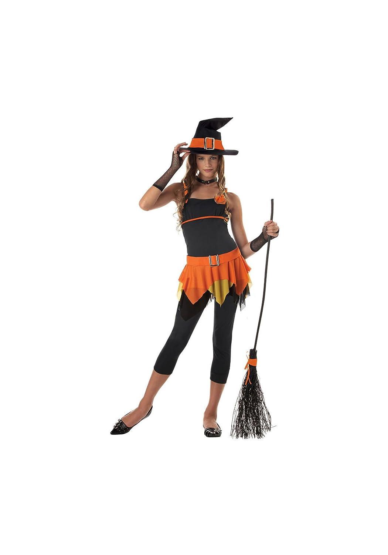 California Costumes Sassy Witch Teen Costume (Orange) 7-9