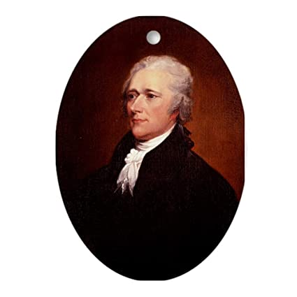 Hamilton Christmas Ornament.Cafepress Alexander Hamilton Ornament Oval Oval Holiday Christmas Ornament