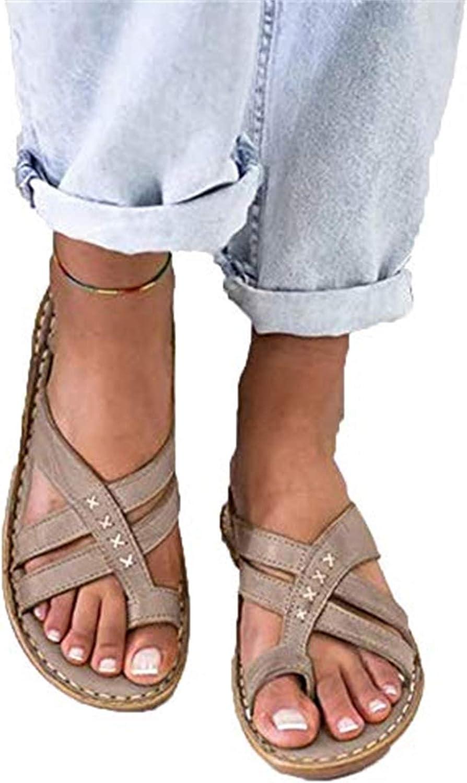 QLIGHA Chanclas Mujer Flip Flop Sandalias Comodo Antideslizantes Verano Zapatos De Playa Y Piscina Sandalias con Punta Abierta