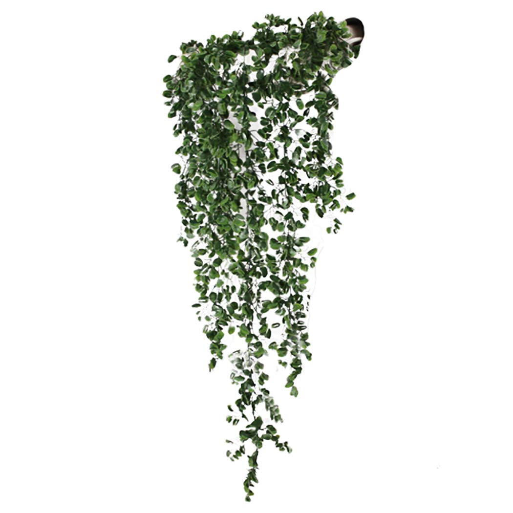 Justdolife Artificial Vine Lifelike Garland Hanging Vine for Home Office