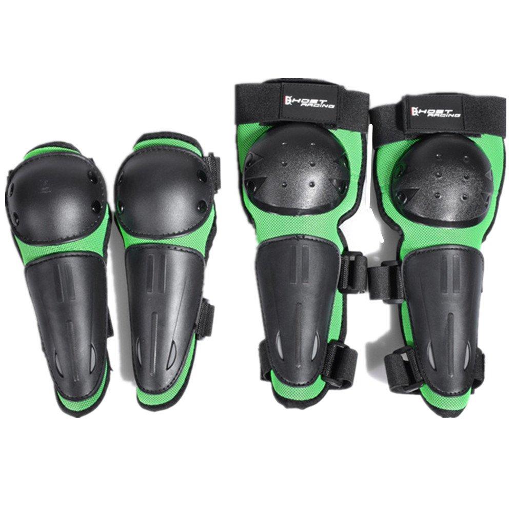 LCPG Motorrad-Knie- und Ellbogenschützer Outdoor-Reiten Anti-Fall-Schutzausrüstung Motocross Radfahren Protector Guard Armors Set für Radfahren Skating Skifahren Reiten