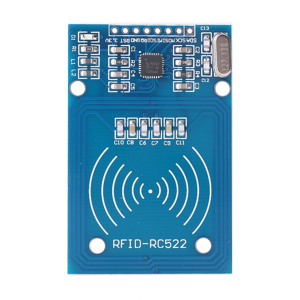 Newsmarts Rc522 Card Read Antenna Rf Rfid Reader Ic Uhf Proximity Module Mfrc 522 Industrial Scientific