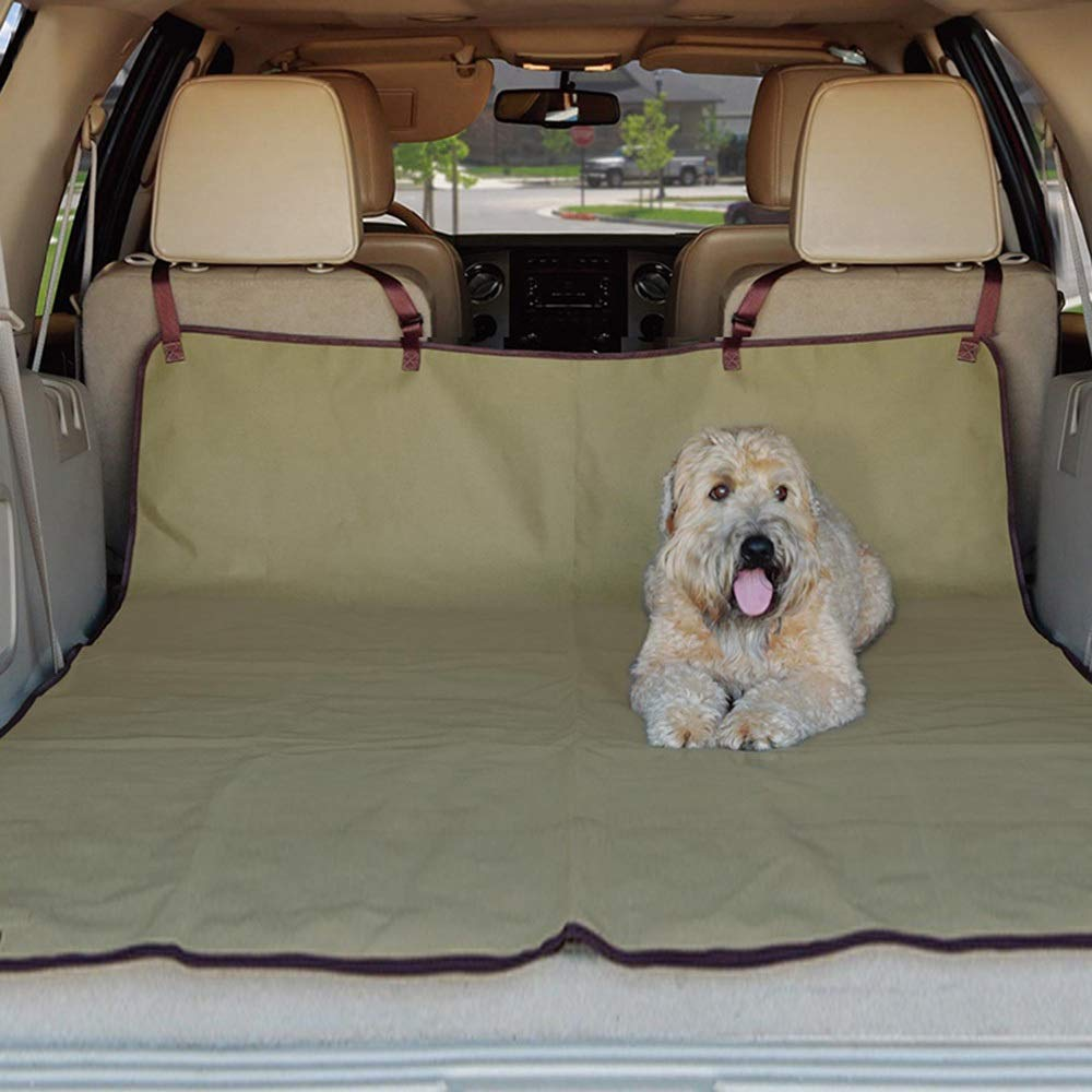 As-picture 127cm178cm As-picture 127cm178cm HOUYAZHAN Dog Car Mat SUV Car Trunk Pet Car Mat Waterproof Dog Mat (color, Size   127cm178cm)