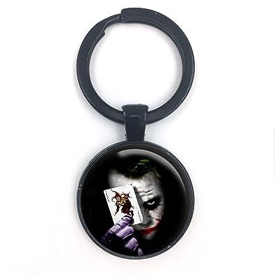 Llavero con diseño de mariposa N Beez The Joker Batman con ...