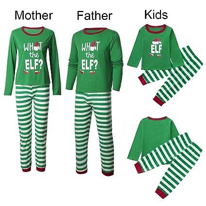 HEHEM Baby Clothes Christmas Kids Women Men Clothes Christmas Eve Set  Halloween Family Pajamas Sleepwear Women Reindeer Tops Blouse Pants  Christmas Outfits ... c3caf9a47