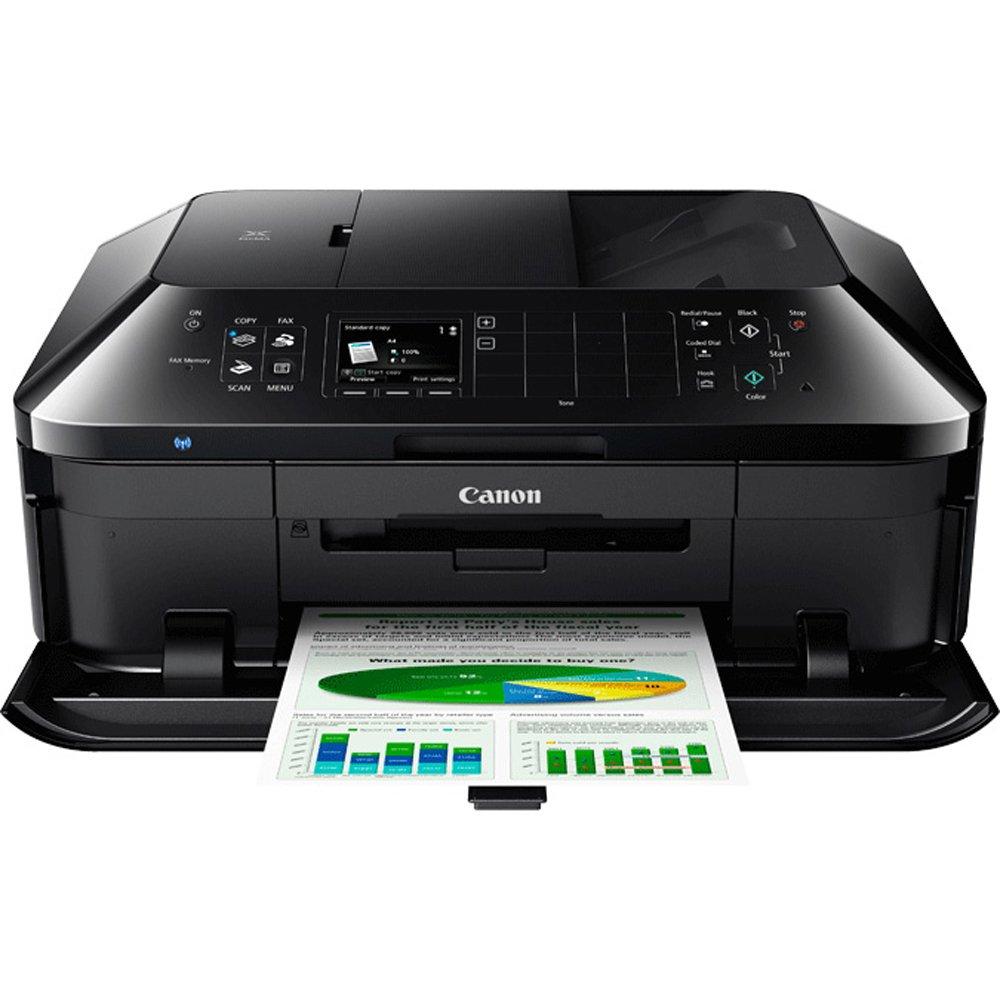 Canon PIXMA MX922 Wireless Inkjet Office All-In-One Printer + Canon Genuine PGI-250 BK,CLI-251,4 Inks + Printer Cable by Beach Camera (Image #2)