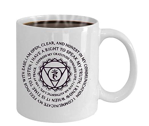 Regalo para amantes del yoga, regalo de yoga, taza de café ...