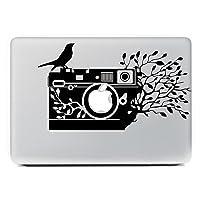 MacBook 対応 アートステッカー iCasso 木のカメラ 13インチ対応 並行輸入品