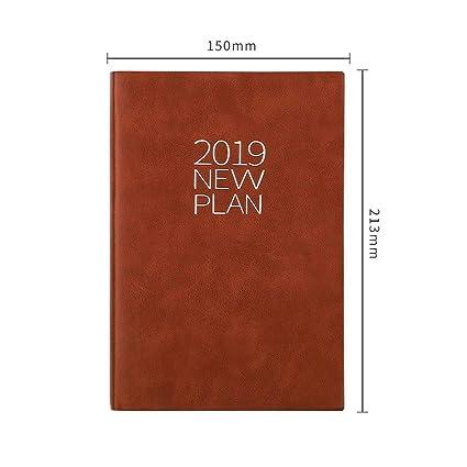 YWHY Cuaderno Agenda 2019 Agenda Bloc De Notas Agenda ...