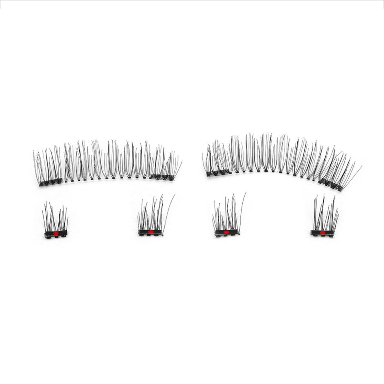 3653b7767d5 Amazon.com: 6Pcs Magnetic Eyelashes Invisible Magnetic Lashes Mink Eyelashes  With Tweezers 3D Mink Lashes Thick Full Strip False Eyelashes,52hb: Beauty