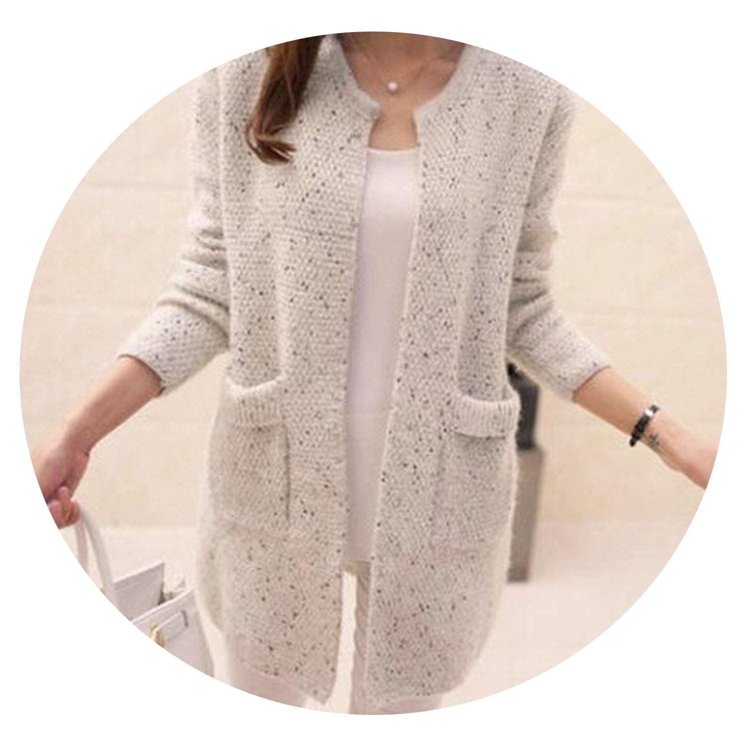 Women/'s New Casual Long Sleeve Tall Hip sized Knitted Jumper Sweater