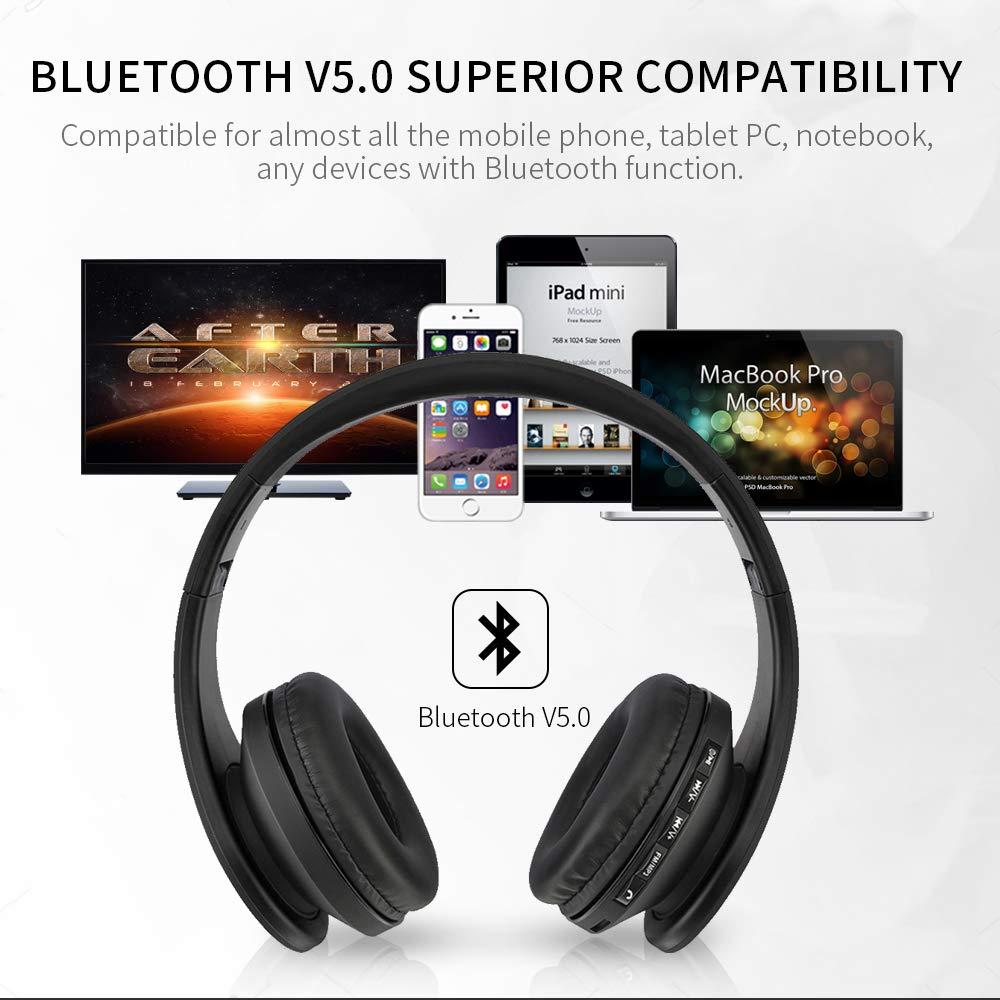 barsone Over Ear Auriculares inalámbricos Bluetooth estéreo ...