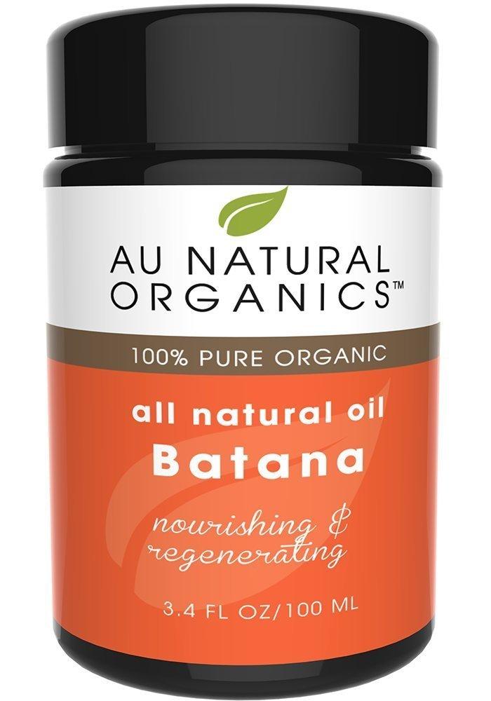 Au Natural Premium Organics Batana Oil 3.4oz / 100ml - Revitalizing Hair Care Natural Oil - Face &Body Skin Moisturizer - Thickens Hair & Repairs Split Ends (View amazon detail page) Au Natural Organics