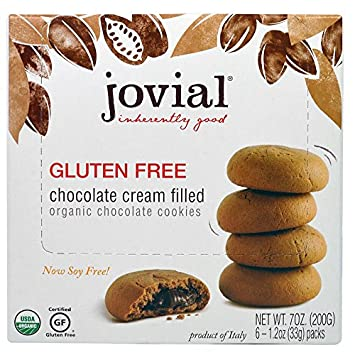 Amazon.com: Jovial Cookies Chocolate relleno de crema sin ...