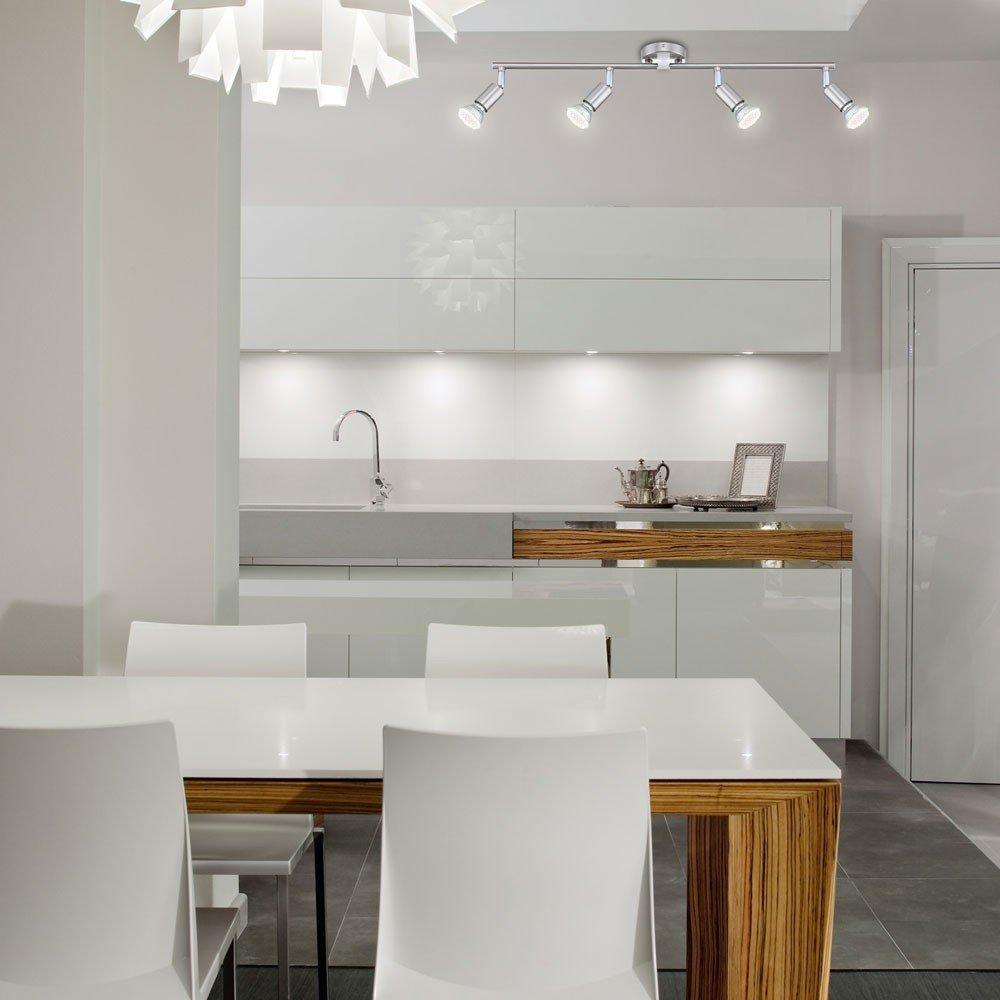 Licht-Trend Luminato, LED-Deckenlampe, 54.5cm, 4 x LED 13153+LED ...