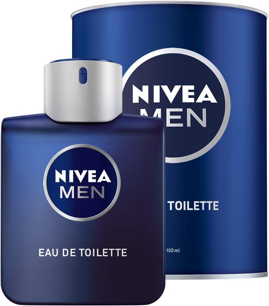 NIVEA MEN Eau de Toilette, Colonia para Hombre en Frasco con Lata, 1 x 100ml