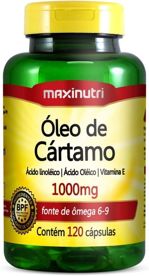 Óleo de Cártamo 1000mg - 120 Cáps, Maxinutri