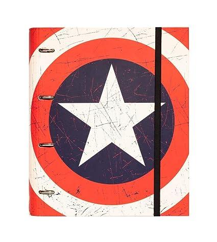 Grupo Erik Editores Premium Marvel - Carpeta troquelada, 4 ...